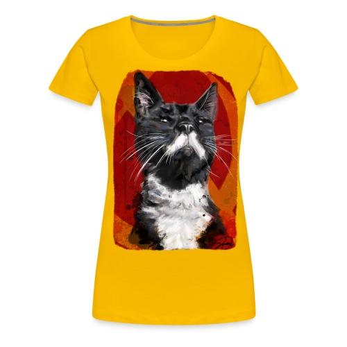Stalin the Cat USSR - Women's Premium T-Shirt