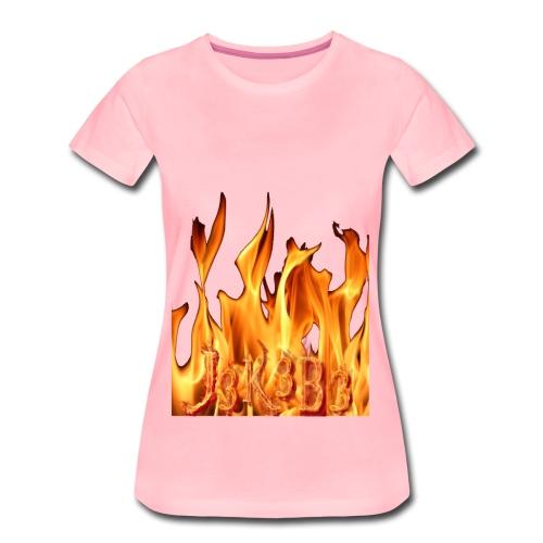 jekebe vuur - Vrouwen Premium T-shirt