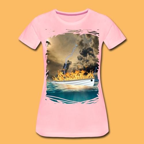 Tout Baigne, même si ca brûle - T-shirt Premium Femme