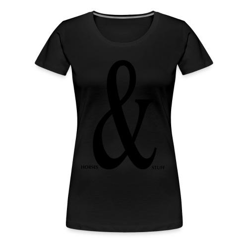 Horses & Stuff - Frauen Premium T-Shirt