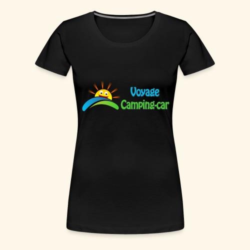 Voyage Camping-Car - T-shirt Premium Femme