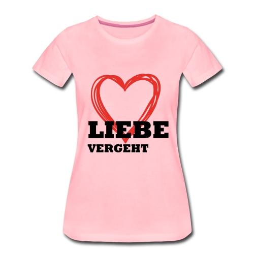 Liebe_einzeln - Frauen Premium T-Shirt
