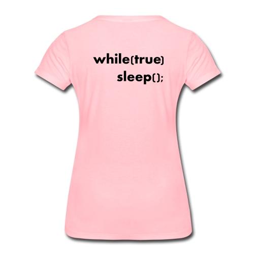 while_true - Informatikermotiv - Frauen Premium T-Shirt