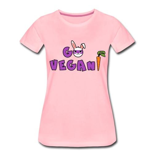 Go végan - T-shirt Premium Femme