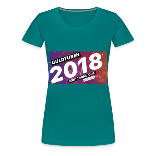 Guldtuben 2018 - Dame premium T-shirt