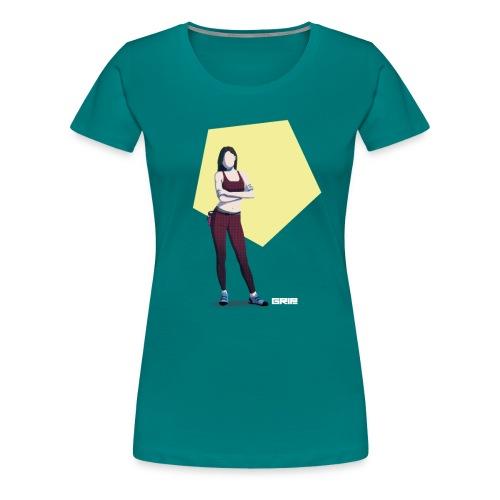 climbing girl - Camiseta premium mujer