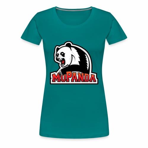 MoPanda Logo - Frauen Premium T-Shirt