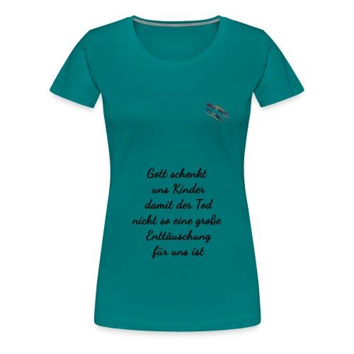 Mutter Spruch Randy Design - Frauen Premium T-Shirt