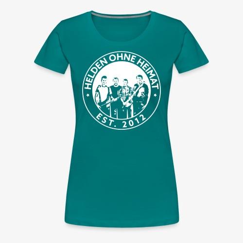 Helden Ohne Heimat Emblem - Frauen Premium T-Shirt