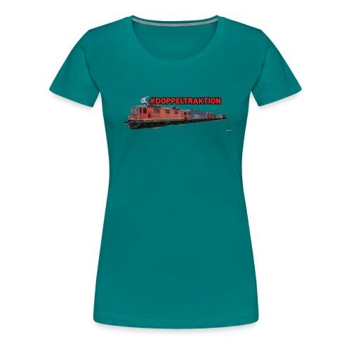 #Doppeltraktion Merchandise! - Frauen Premium T-Shirt