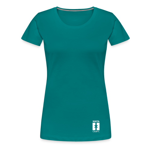 Basic White | Mata Club Football Culture - Maglietta Premium da donna