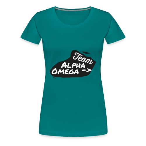 Team_Alpha Omega - Frauen Premium T-Shirt