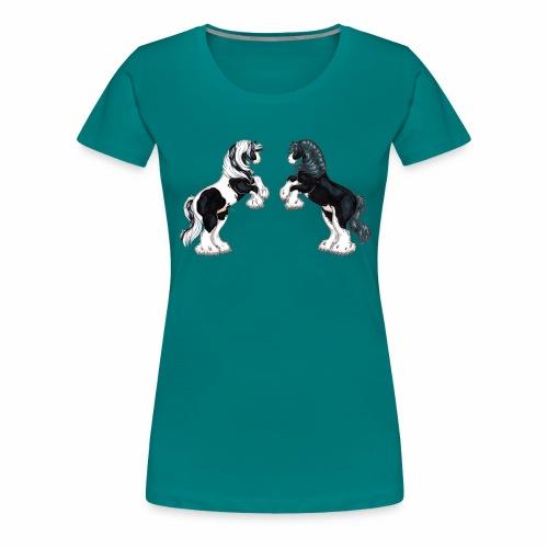 Steigende Tinker - Frauen Premium T-Shirt