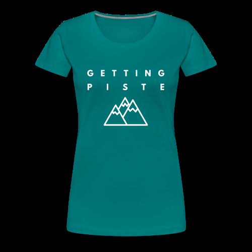PISTE - Women's Premium T-Shirt