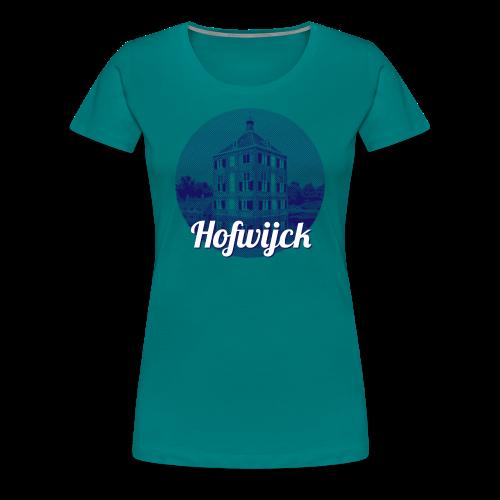 Hofwijck blauw - Vrouwen Premium T-shirt