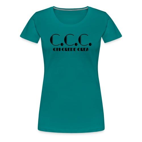 C.C.C. - Maglietta Premium da donna