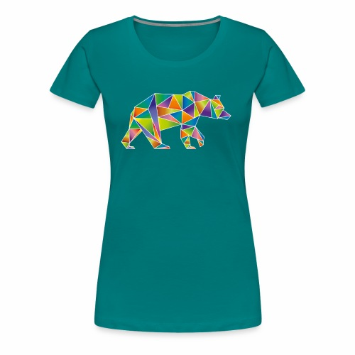 Nature Bear - Women's Premium T-Shirt
