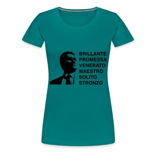 ARBASINO - Maglietta Premium da donna