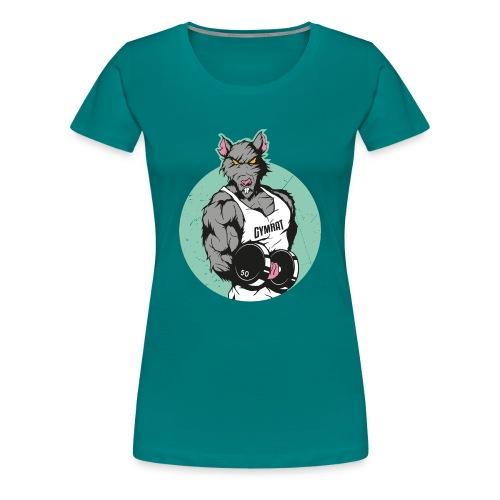 GYMRAT - Frauen Premium T-Shirt
