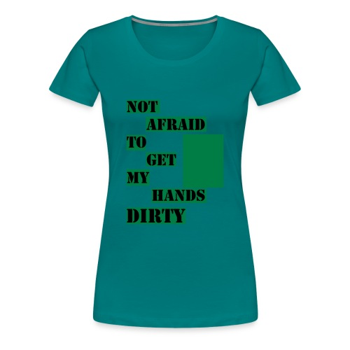 NOT AFRAID - T-Shirt - Premium-T-shirt dam