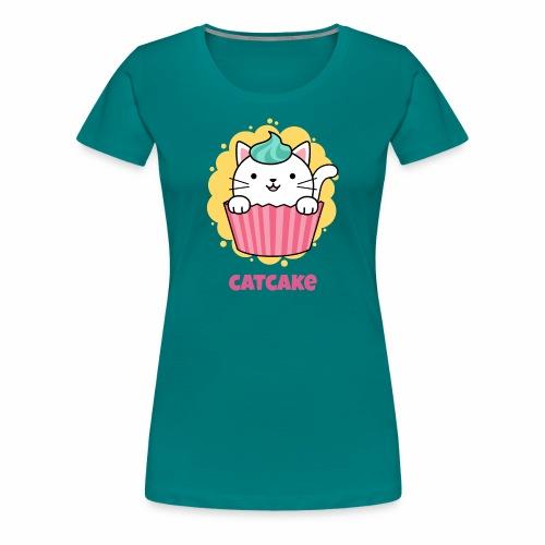 gato - Camiseta premium mujer