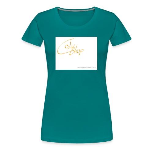 Notes 181003 235856 482 1 - Frauen Premium T-Shirt
