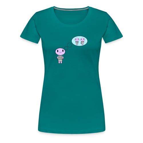 thinking ten on a t-shirt - Women's Premium T-Shirt