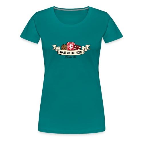 C jcM7oXkAAvjVT - Vrouwen Premium T-shirt
