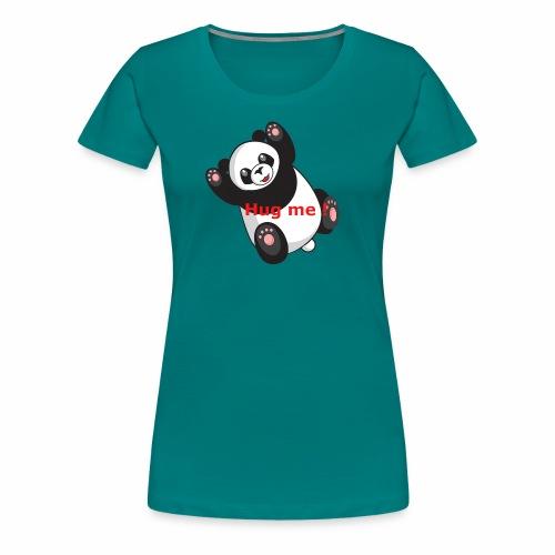 Panda Hug me - Frauen Premium T-Shirt
