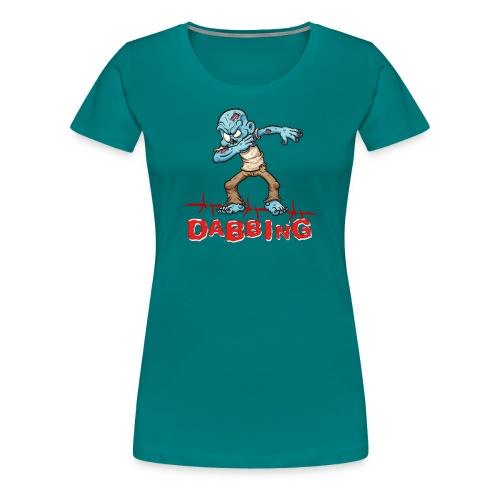 Zombie Dabbing - Halloween - Frauen Premium T-Shirt