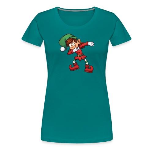 DABBING WEIHNACHTSELF - Frauen Premium T-Shirt