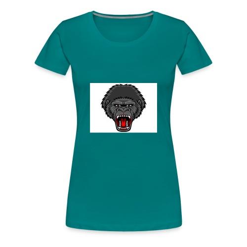 gorilla - Vrouwen Premium T-shirt
