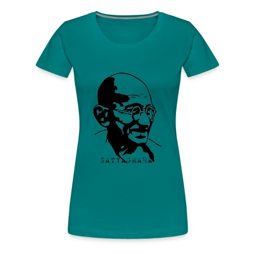 Gandhi Satyagraha - Women's Premium T-Shirt
