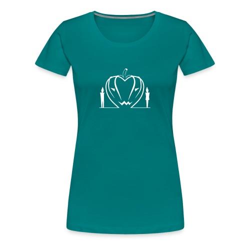 Non aver paura dell'amore... WHITE - Maglietta Premium da donna