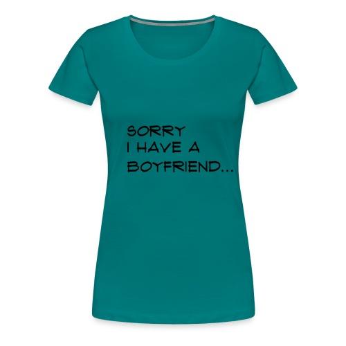 sorry - T-shirt Premium Femme