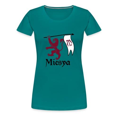 Miesya Shirt Vrouw - Vrouwen Premium T-shirt