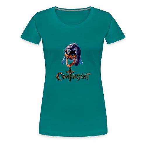 Contignent Logo - Women's Premium T-Shirt