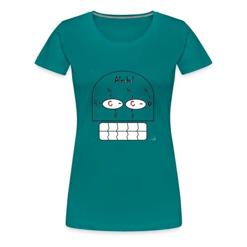 FORMULA QUIMICA ALCOHOL - Camiseta premium mujer
