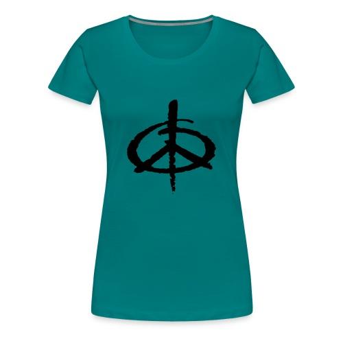 Peace - Premium-T-shirt dam