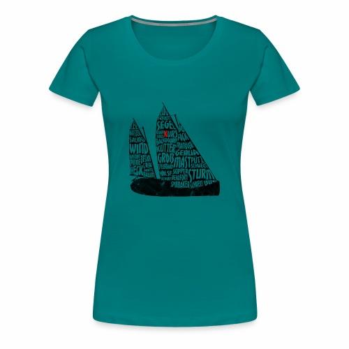 Wordart Kutter ZK10 Vintage - Frauen Premium T-Shirt