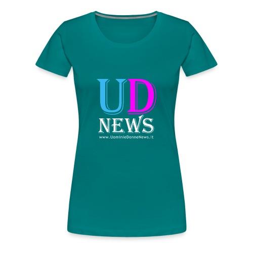 La maglietta di Uomini e Donne News scura - Maglietta Premium da donna