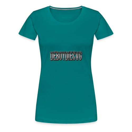 youtube name - Vrouwen Premium T-shirt