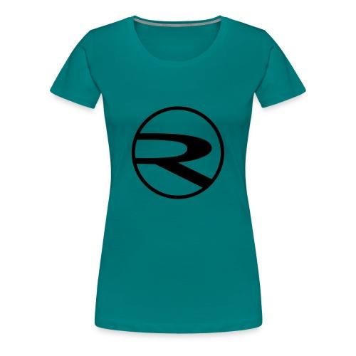 raydas60dc_schwarz-r-einzel_Kreis - Frauen Premium T-Shirt