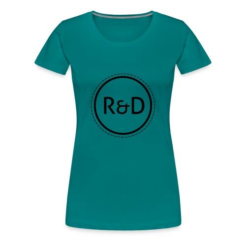 logo_zwart - Vrouwen Premium T-shirt