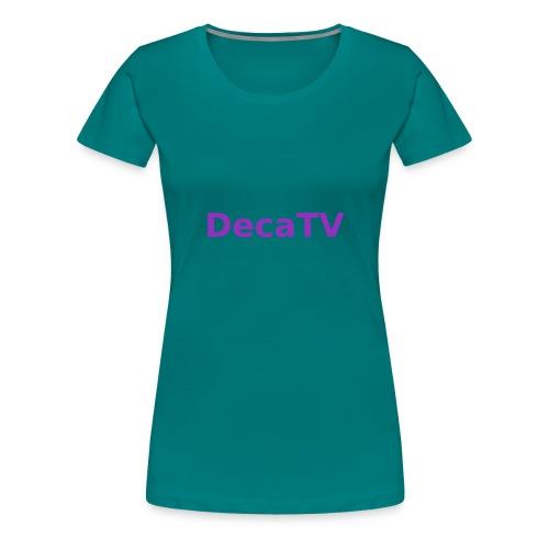 Offizieller Deca-Merch - Frauen Premium T-Shirt