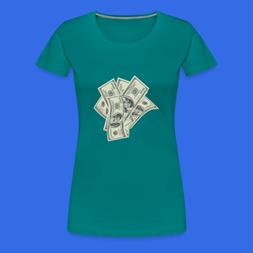 more money - Women's Premium T-Shirt