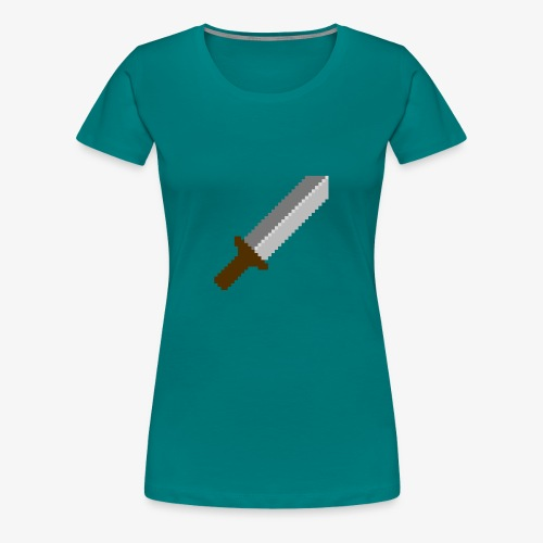 Schwert - Frauen Premium T-Shirt