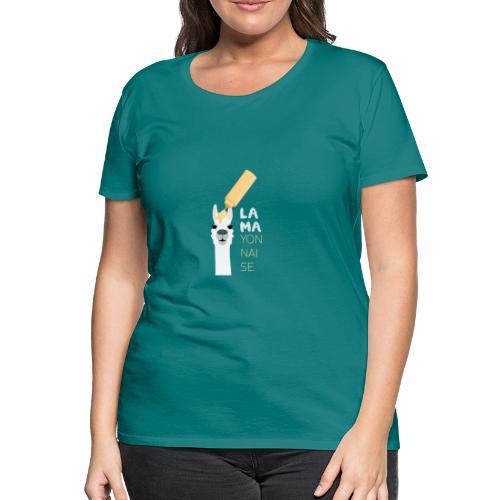 lama yonnaise - T-shirt Premium Femme