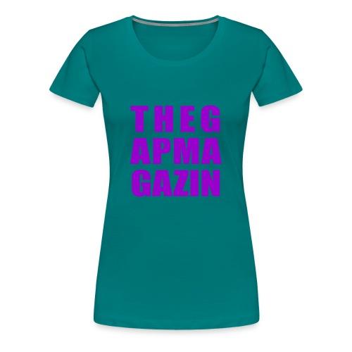 thegapmagazin lady - Frauen Premium T-Shirt