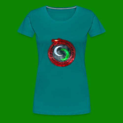 Emblème des créatures surnaturels. - T-shirt Premium Femme